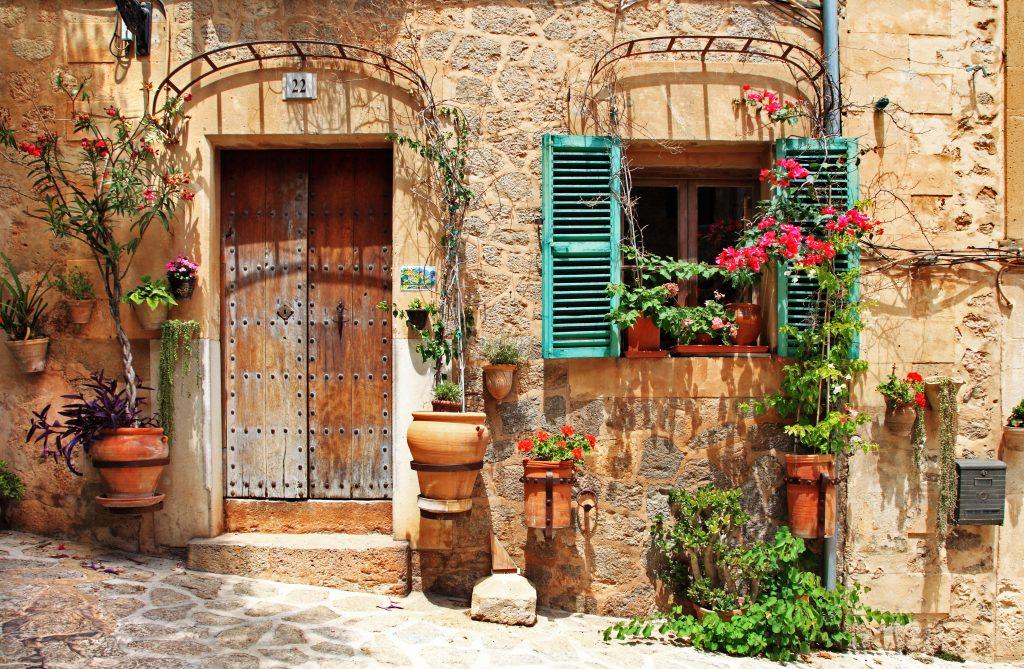 Испания старый город