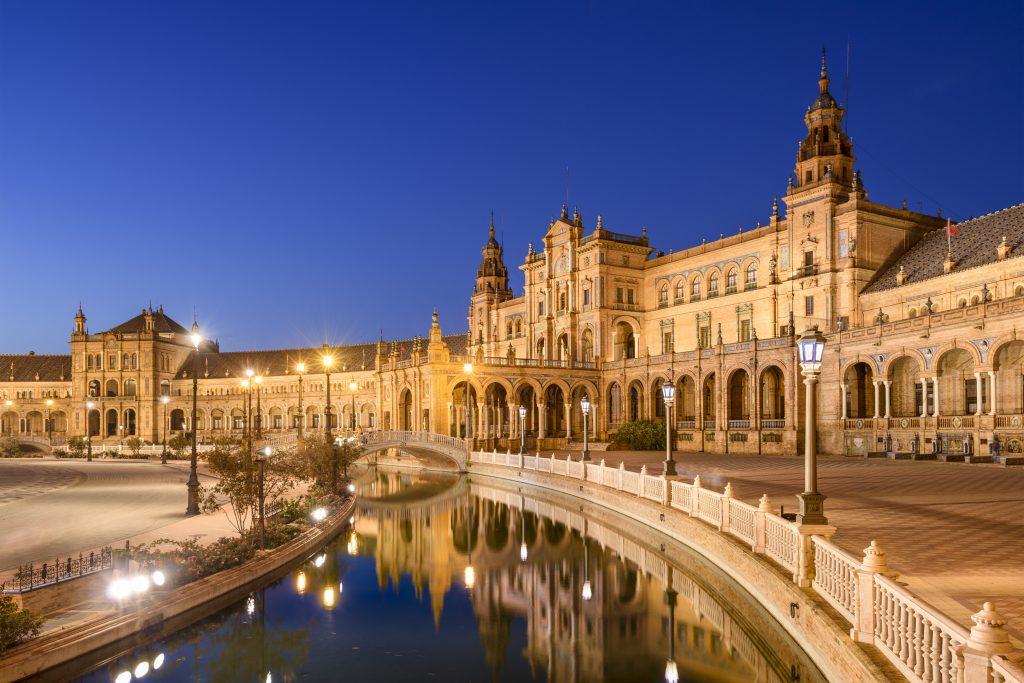 Площадь Севильи Испания